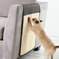 Double Lined Fabric Cat Scratcher Mat Sofa Furniture Kitty Scratch Protector