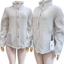 LULU LEMON Go Cozy Jacket Wool bled Sherpa Fleece Sz 10 - 12