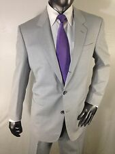 Mint Vtg Auth LOUIS VUITTON Pinstripe 3 Button Single Vent suit Made in Italy