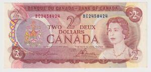 Canada $2 (1974)  BC-47a aUNC Banknote ** BC2458424**  ✹RW L3✹