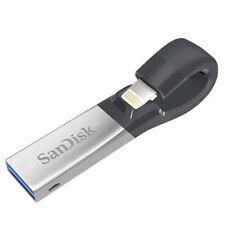 SanDisk iXpand 32GB 64GB 128GB USB 3.0 Flash Drive for iPhone iPad Apple SDIX30