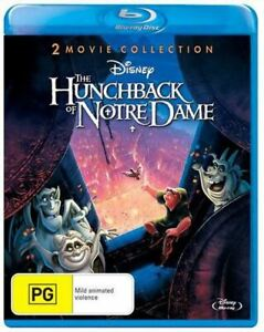 THE HUNCHBACK OF NOTRE DAME 1 + 2 Double Feature Blu-ray Collection Demi Moore