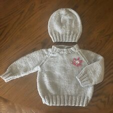 47949df39f32 Hand Knitted Baby Girl Clothes in Girls  Jumpers   Cardigans (2-16 ...