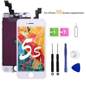 For White iPhone 5s/5SE LCD Touch Screen Replacement Digitizer Assembly Parts