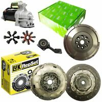 CSC, LUK CLUTCH KIT, STARTER, BOLTS, VALEO DMF FOR FORD MONDEO SALOON 2.0 TDCI