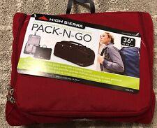 High Sierra PACK-N-GO 36'' Duffle Bags - Red Color