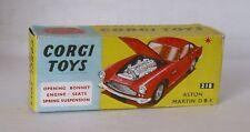 REPRO BOX CORGI n. 218 Aston Martin db4