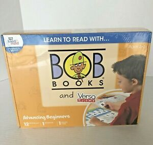 Bob Books and Versa Tiles Reading Advanced Beginners NEW Sealed Ages 3-6