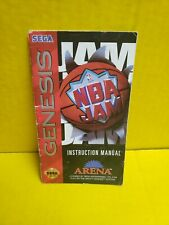 NBA Jam SEGA Genesis Instruction Manual