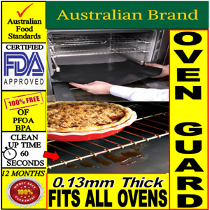 Oven Guard Oven Liner &  Reusable Non Stick Baking Mat 35cm - 200cm lengths