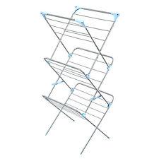 Minky Homecare IH86400102V 3-Tier Indoor Drying Rack-Siver