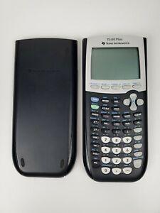 TI-84 Plus Graphing Calculator Black w/ Cover No Cord Clean
