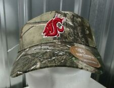 sale retailer 67c90 64ae3 NEW Top of the World WSU Washington State Cougars Camo Visor Hat Adjustable
