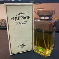 EQUIPAGE EAU DE TOILETTE MEN'S SPRAY HERMES VINTAGE RARE 100 ML 3.3 FL. OZ.
