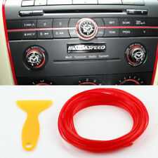 5M Red Flexible Car Styling Interior Molding Trim Decorate Strip Line Gap Filler