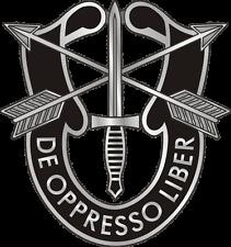 Enmarcado Militar Insignia impresión – Us Army Special Forces De Oppresso Liber (arte)