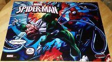 NOS! Spider-Man Pinball Machine Artwork Translite Film Free Shipping! New!