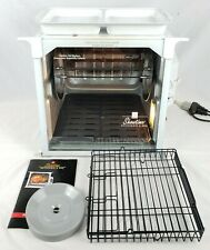 🍗Ronco Showtime Full Size Rotisserie & BBQ Oven Model 4000 w/ Accessories CLEAN
