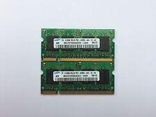 1GB PAIO (2x512MB) PC2-4200 SELEZIONE casuale a due lati 2Rx16 DI MARCA sodimms