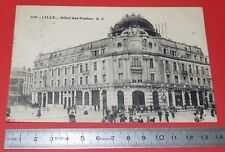 CPA CARTE POSTALE 1927 LILLE HOTEL DES POSTES NORD 59