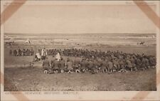 EARLY WW1 DAILY MAIL PC - SERIES 6 no.41 Church Service Battlefield   RM.875