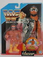 "Hasbro WWF ""Macho Man"" Randy Savage Wrestling '90 Blue Figure Wrestler WWE"