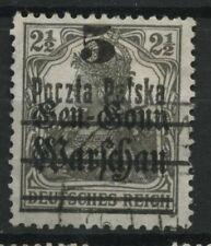 Polen 1919 Fischer Nr 8 Fehldruck B 12 (PELSKA)
