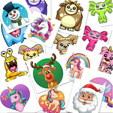 TEMPORARY TATTOOS Kids Childrens Girls Boys Novelty Party Goody Loot Bag Fillers