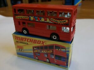 Matchbox Superfast MB17 The Londoner London Bus - Carnaby - Mint in Mint Box (3)