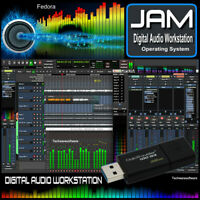 JAM - DIGITAL AUDIO WORKSTATION 32GB USB ,Multi-Track,MIDI,Record,Edit,Mix Music