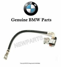 BMW 525i 530i 545i Battery Cable Negative with Intelligent Battery Sensor (IBS)