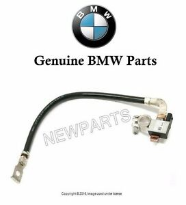 For BMW 525i 530i 545i Battery Cable Negative w/ Intelligent Battery Sensor IBS