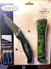 Sheffield 2 Piece Camouflage Tool Set, Pocket Knife 12133 & Flashlight 32850 New