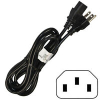 10ft AC Power Cord for Behringer EUROLIVE Series Portable Speakers, Mains Cable