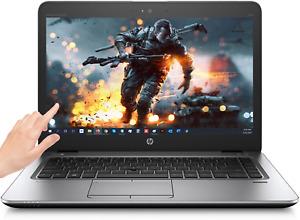 HP Elitebook 840 TOUCH! Win10 Pro (Win11!) Intel 8th Gen i5 3.6 GHz Quad Webcam