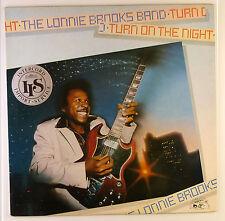 """12"""" LP-The Lonnie Brooks Nastro-turn on the night-b2404-Slavati & cleaned"""