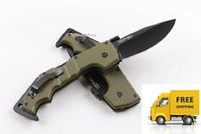 AK47-  STEEL Model Green Handle Folding Pocket Camping Survival Knife