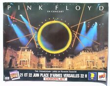Vtg 1988 Pink Floyd The Momentary Lapse Of Reason Tour D'armes Versailles Poster