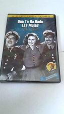 """DVD """"QUE TE HA DADO ESA MUJER"""" PEDRO INFANTE LUIS AGUILAR REMASTERIZADA"""