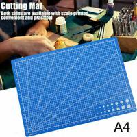 PVC Cutting Mat A4 Single Self-Healing Pad Patchwork Tool Handmade 30x22cm