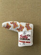 New listing Ltd Release Leather 2011 Scotty Cameron Dancing Us Flag Junk Yard Dog Headcover