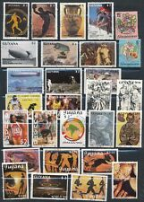 Guyana **28 DIFFERENT (1971-93) ** ALL USED/MOSTLY CTO's INCLUDES #1852-54