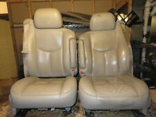03-06 Denali neutral Leather Buckets Interior Seats Power air bags memory heated