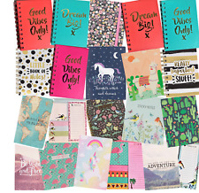 COLOURFUL LITTLE NOTEBOOK IDEAS NOTEBOOKS PADS DIARY STICKY NOTE BOOK GIFT