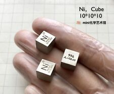 99.5% High Purity Nickel Ni Metal Carved Element Periodic Table 10mm Cube