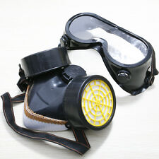 Dual Cartridge Respirator Mask Safety Paint Dust Filter Face Air Gass Full Size