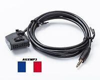 Cable adaptateur auxiliaire aux mp3 pour autoradio Seat Leon MED2 MFD2 RNS RNS2