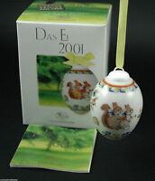 Hutschenreuther Porzellan Das Ei Osterei 2001 mit Originalverpackung NEU 1.Wahl