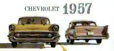 CHEVROLET 1957 Sales Brochure 57 Chevy