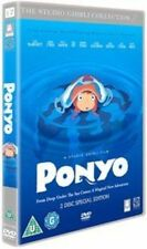 Ponyo 2 Disc Edition 2008 DVD Film Adventure Family Cate Blanchett